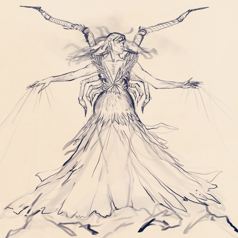 CHoW#312 :: Lolth - Demon Queen of Spiders