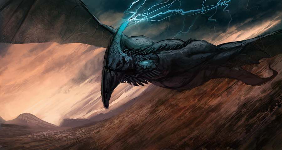 C.O.W. #283. Storm Dragon - WIPs thread