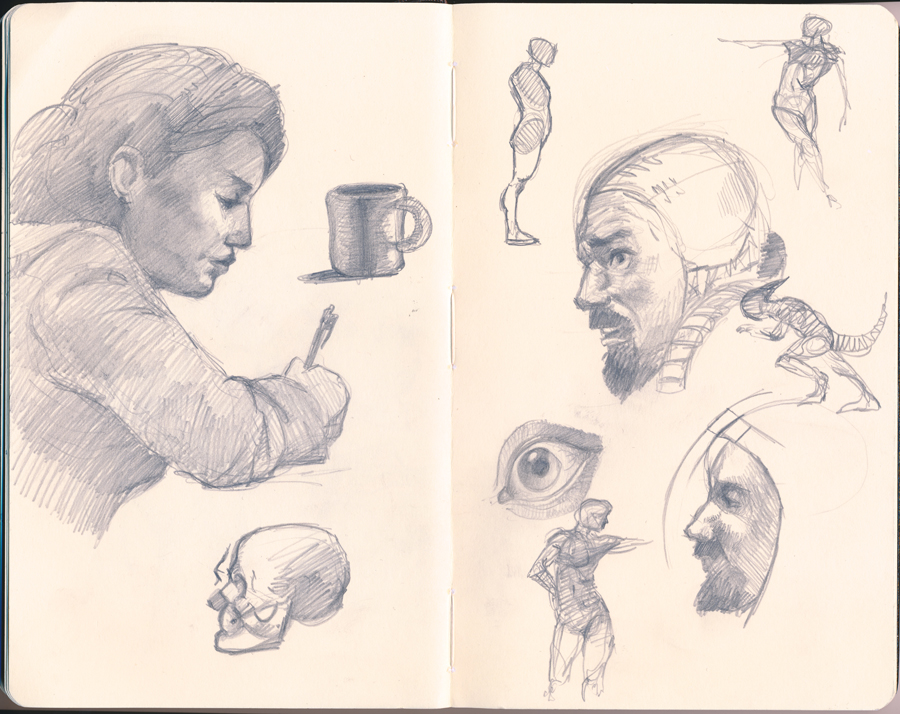 RBA Sketchbook